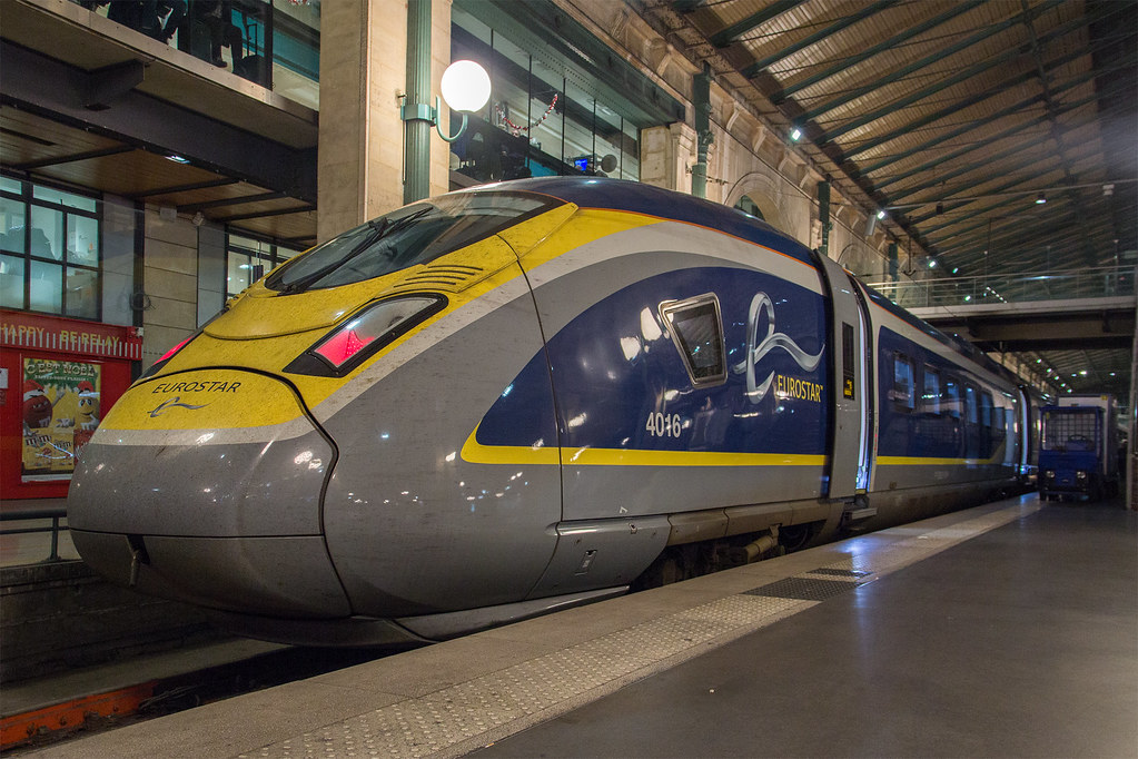 ... Eurostar e320 4016 at Paris Nord after arriving with 9036 from London |  by justindperkins