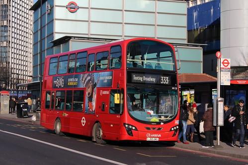 Arriva London HV23 on Route 333, Elephant & Castle