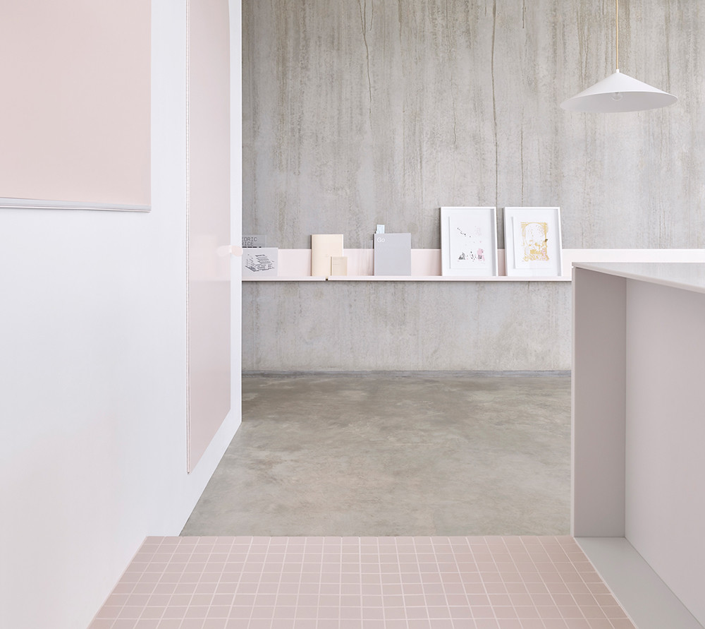 Melbourne pink apartment design by BoardGrove Architects Sundeno_06