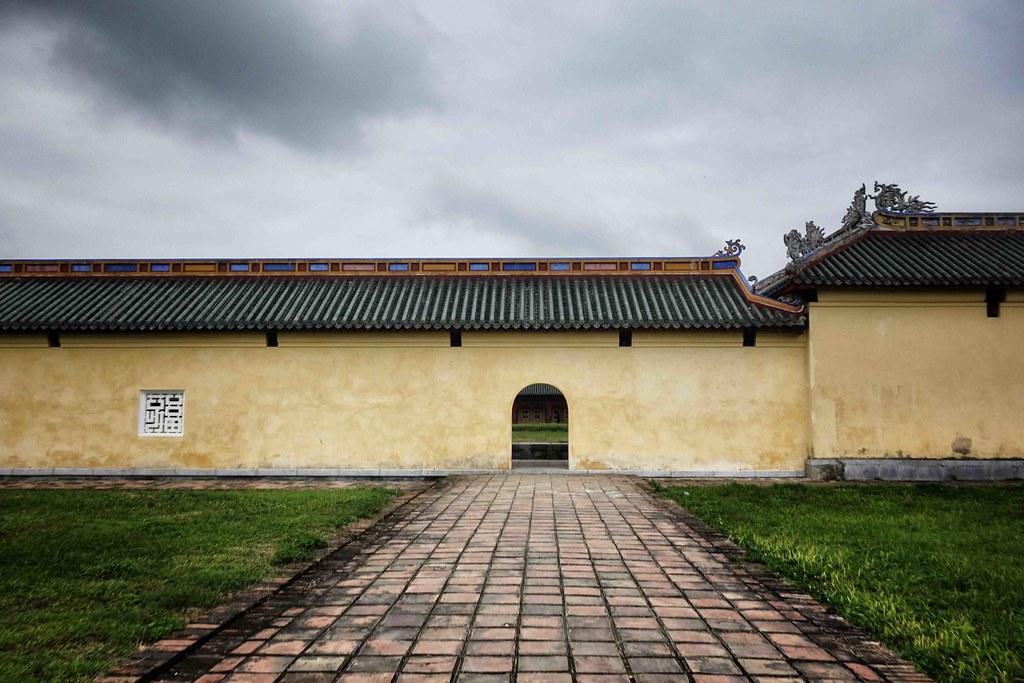 Hue - Citadelle - Wall 1
