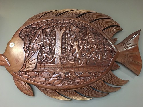 wooden fish ,  GMA's house