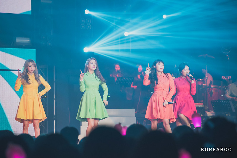 2017 Mamamoo Concert Moosical Curtain Call