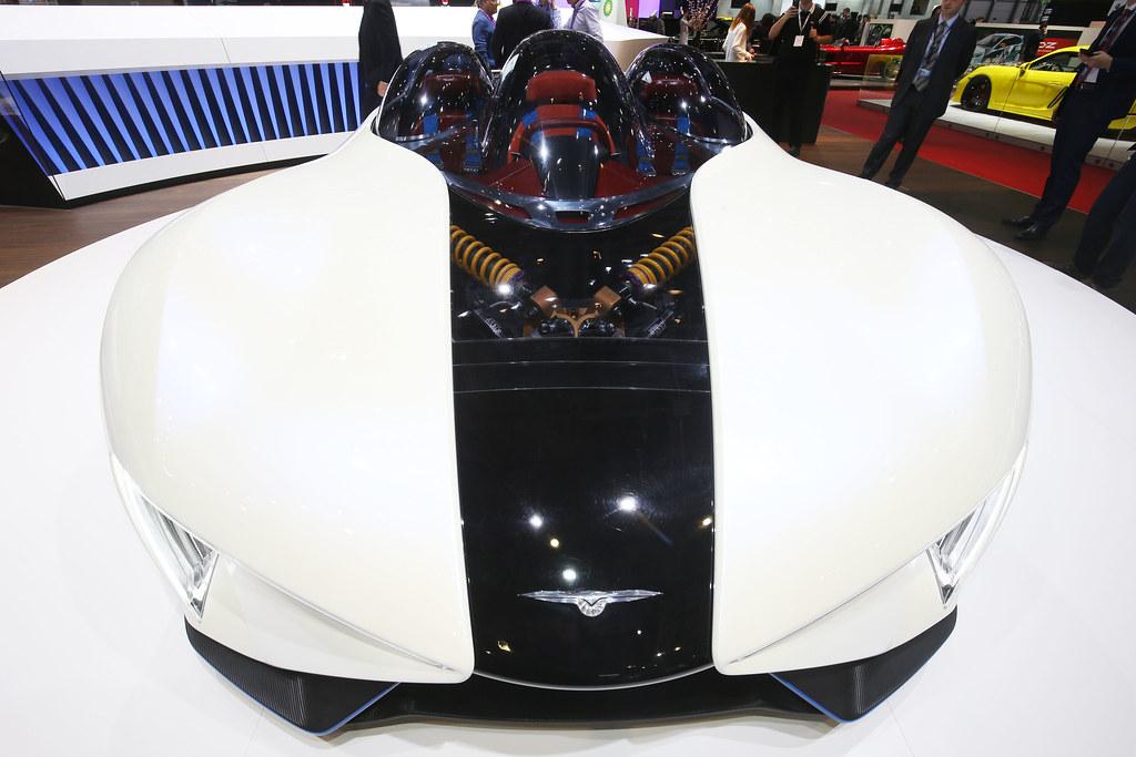 Techrules Ren live photos: 2017 Geneva Motor Show