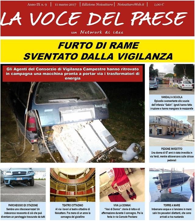 Noicattaro. Prima pagina n. 9-2017 intero