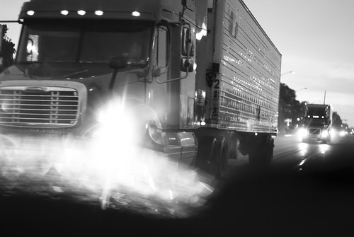 Truck in the rain. - IMG_5541 | by Paul L Dineen