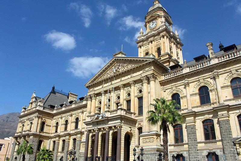 en taxatur fra Cape Town centrum