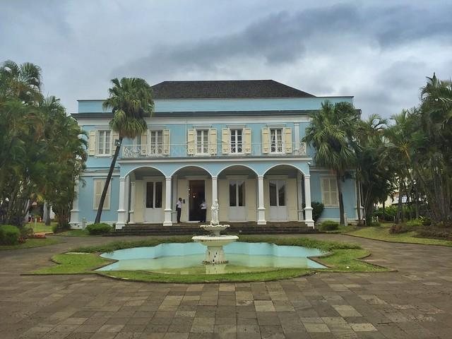 Mansión criolla en Saint Denis (Isla Reunión)