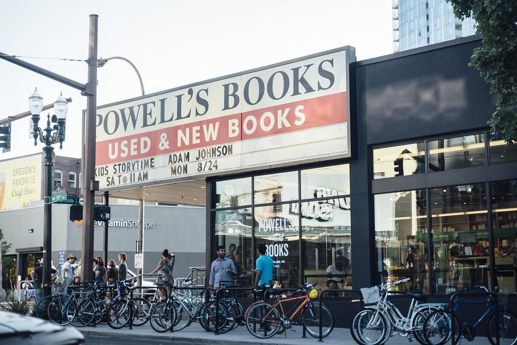 Powells Book Shop Portland