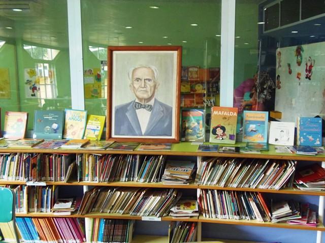 Biblioteca pública Paulo Rodrigues dos Santos, em Santarém