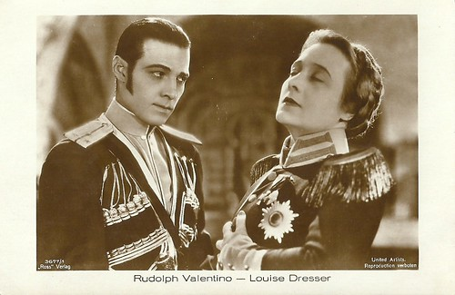 Rudolph Valentino in The Eagle (1925)
