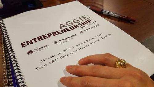 028/365: Aggie Entrepreneur