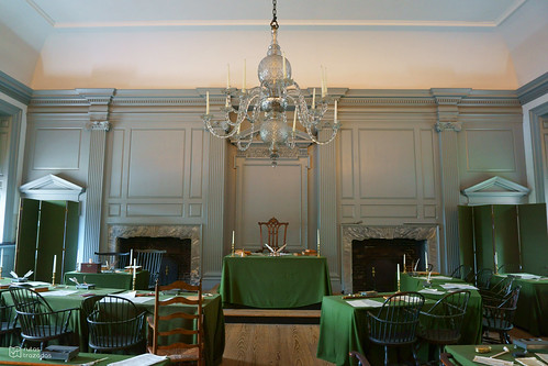 Independence Hall Interior