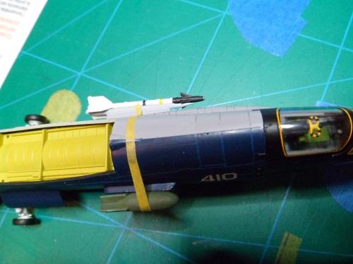 Pas-à-pas : Vought F-8E Crusader [Academy 1/72] - Page 3 31804538301_90b74696db_o