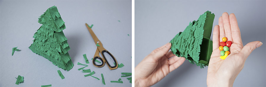 DIY Piñatas con cajitas · DIY Pinata boxes · Fábrica de Imaginación · Tutorial in Spanish