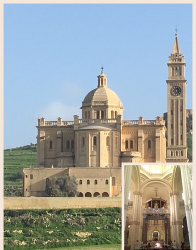 Ta' Pinu Sanctuary, Gozo | by indtravhelp