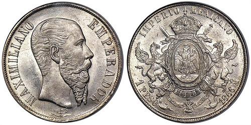 1866 - Mexico_1866Mo_peso_obv_Stacks_110-14752