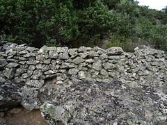 Visite de l'enclos-murets perché au-dessus de la bergerie de l'Ancinu