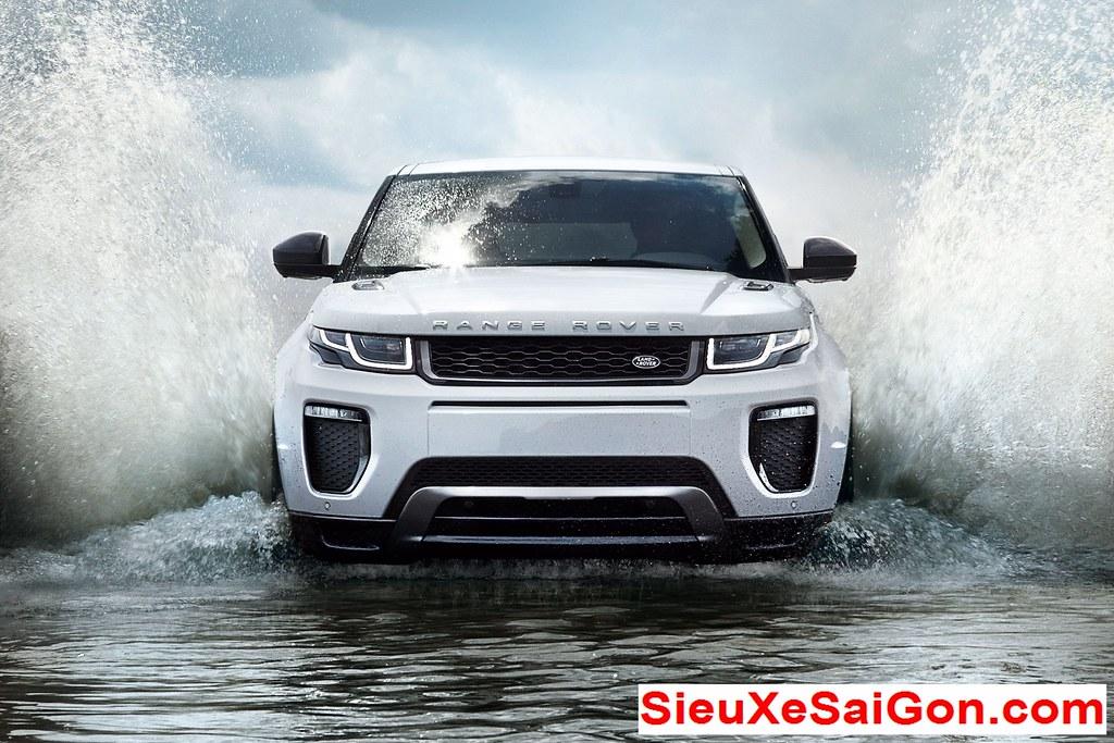 giá xe land rover evoque màu trắng