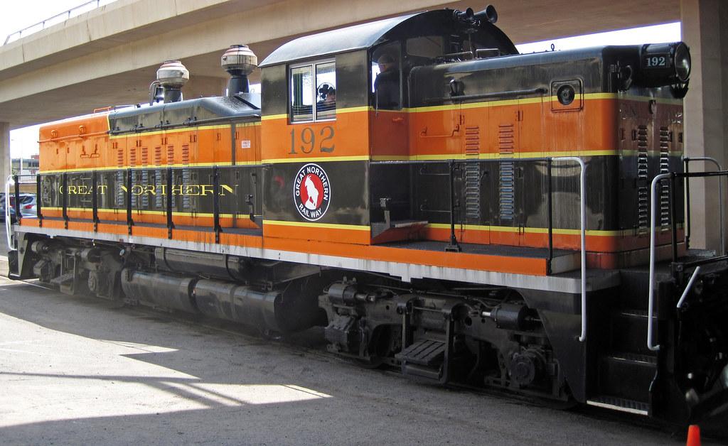 Great Northern Railway 192 Diesel Locomotive General Mo Flickr