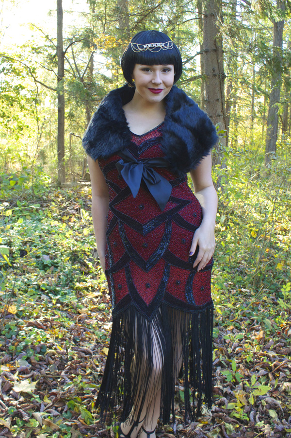 flapper 1920s dress