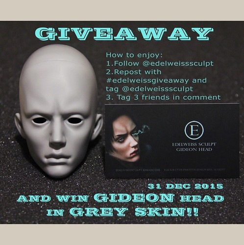 GIDEON Grey Giveaway IG(and flickr too) | by edesweisssculpt