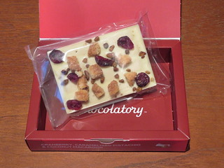 London Kit Kat Chocolatory - Cranberry, Caramelised Pistachio & Coconut Macaroon | by Ali_Haikugirl