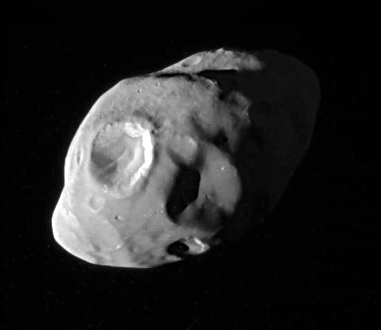La luna di Saturno Pandora ripresa dalla Cassini il 18 dicembre 2016 (N00273188)