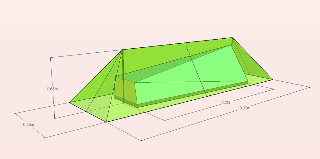 abri mini tente en skytex 32 l 39 atelier des bricoleurs le forum de la randonn e l g re ou. Black Bedroom Furniture Sets. Home Design Ideas