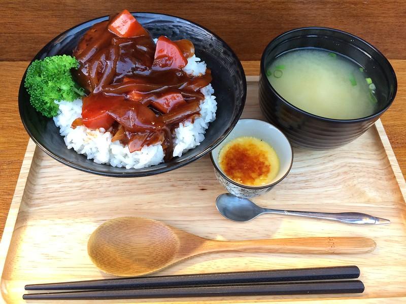 小川家-漢堡丼
