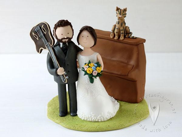 Klavier Musik Hochzeitstortenfigur Fur Die Hochzeitstorte Flickr