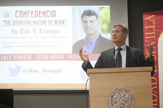 Conferencia 'The Changing Nature of Work', de Alan B. Krueger