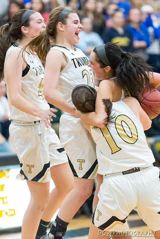 Trumbull High vs. Mercy High - Girls High School Basketball