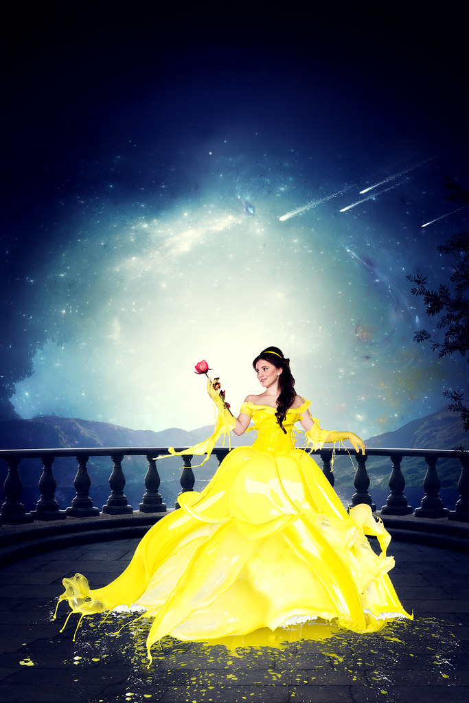 Belle - The Beauty and the Beast | *** Verena Colors DISNEY*… | Flickr