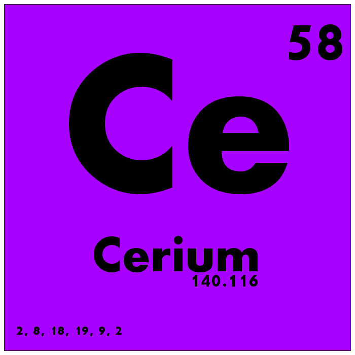 058 cerium periodic table of elements watch study guide flickr 058 cerium periodic table of elements by science activism urtaz Image collections