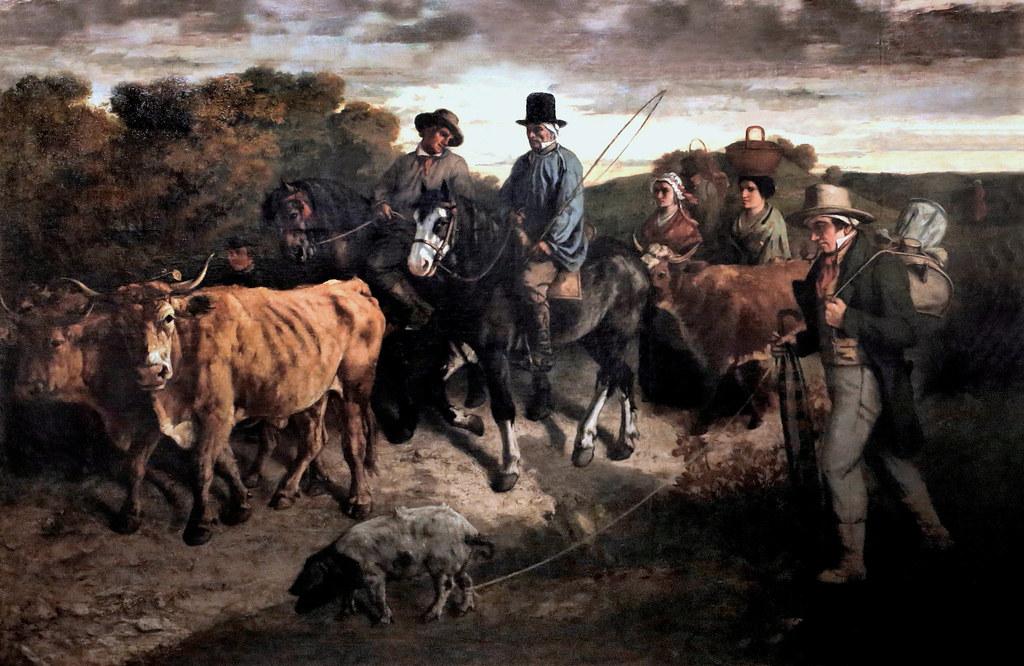 What Are Diffusers >> IMG_0580B Gustave Courbet. 1819 1877. Paris.Les paysans de ...