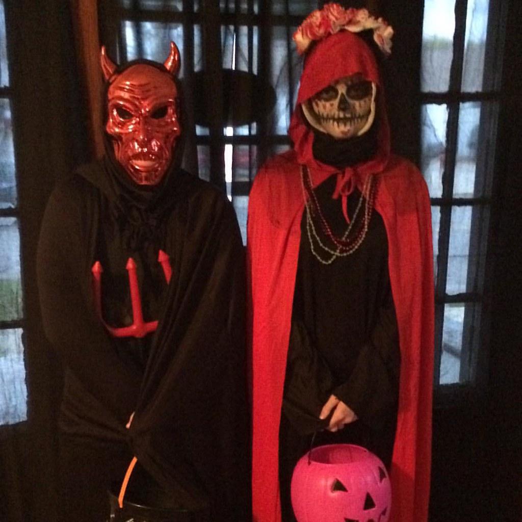 #faeryink Satan and La Santa Muerte ?#Halloween #costumes #orarethey? ? #faeryink & Satan and La Santa Muerte ?#Halloween #costumes #oraretheu2026 | Flickr