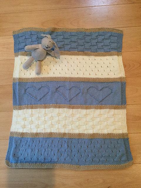 Baby Blanket Pattern Knit Baby Blanket Pattern Heart Bab Flickr