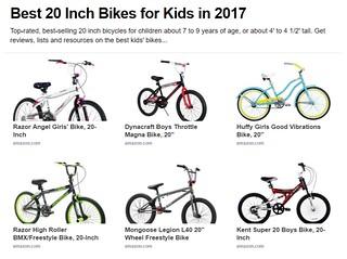 Best 20 Inch Bikes for Kids in 2017 on eLink