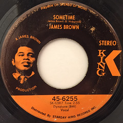 JAMES BROWN:LET A MAN COME IN AND DO THE POPCORN PART ONE(LABEL SIDE-B)