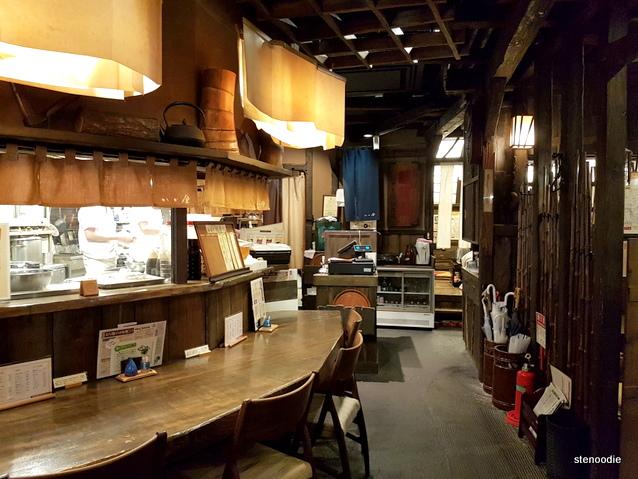 Unagi restaurant in Hokkaido