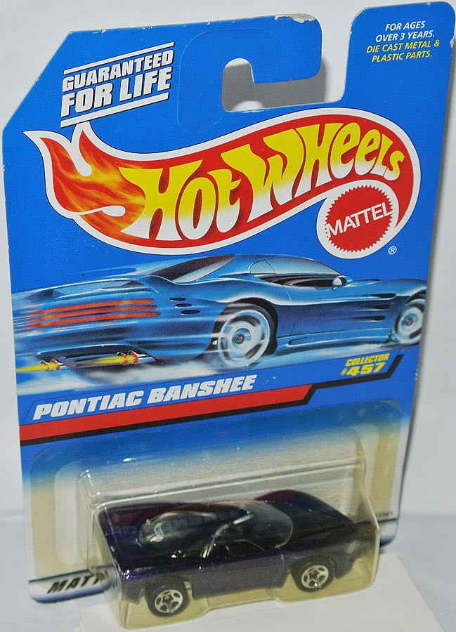 457 Pontiac Banshee Dark Purple 1 64 Hot Wheels
