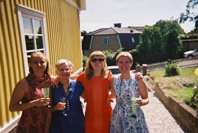 the party, saturday, our 80th birthday party, karlskrona
