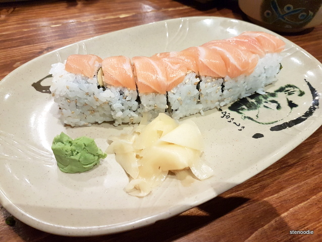Salmon Dragon Roll