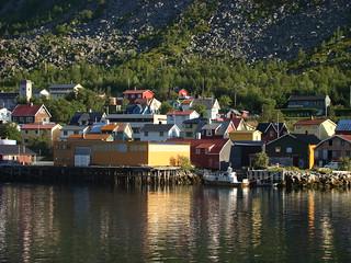 Vertrek uit Gryllefjord