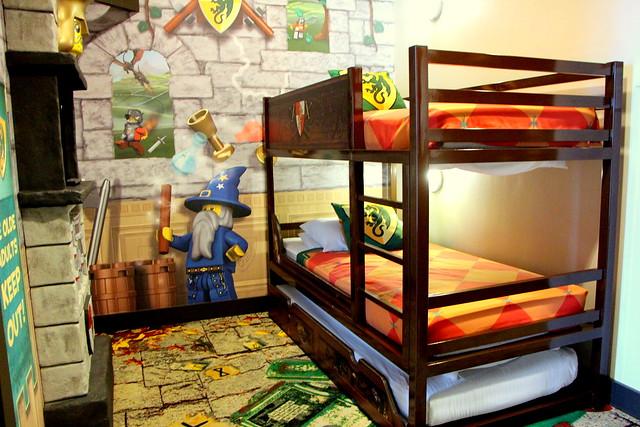 Legoland Kingdom Room Bunk Bed