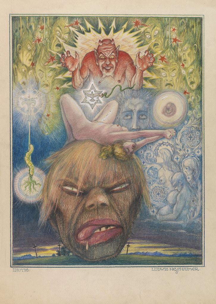 Ludwig Hesshaimer - Idiocy, 1925-30