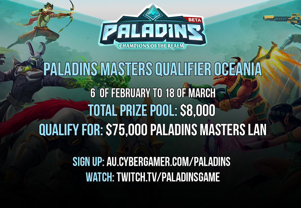 Paladins Masters Qualifier OCE