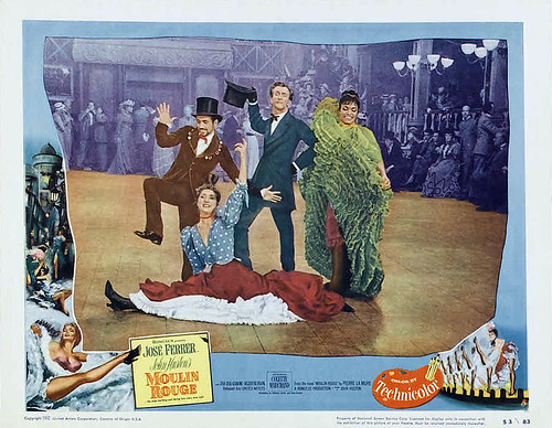Moulin Rouge - 1952 - lobbycard 1
