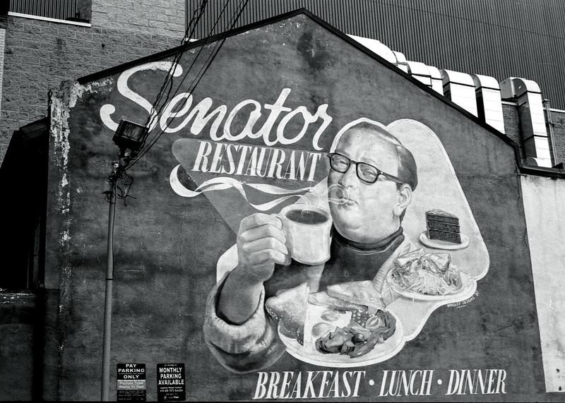 The Senator Restaurant Mural