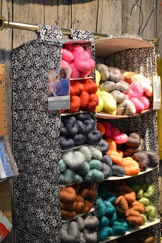 Eyeing the Islington DK by Kettle Yarn Company 0350